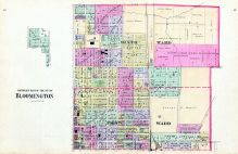 Bloomington - Northeast, McLean County 1895